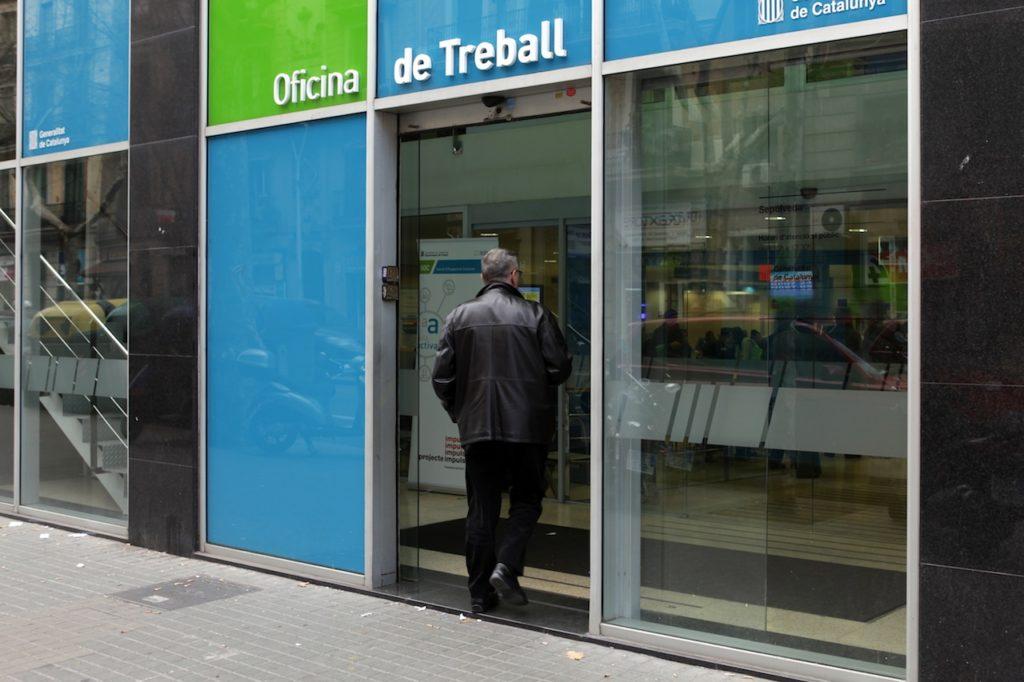 Gran davallada de l atur a santpedor for Oficina de treball