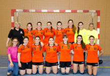 1er equip Handbol Santpedor femení