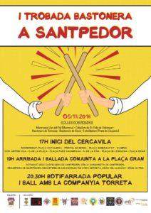 Programa jornada del 5è aniversari dels Picarols de Santpedor
