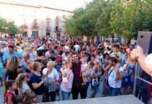 Rafa Martínez homenatjat a la Plaça Gran de Santpedor