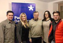 Nou equip del PDeCAT a Santpedor, amb Josep Solé al mig FOTO.PDECAT SANTPEDOR