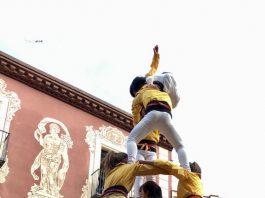 Castellers de Santpedor a Martorell FOTO-MONTSERRAT XIXONS