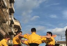 Castellers de Santpedor a Navàs FOTO.CASTELLERS DE SANTPEDOR