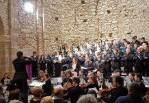Coral Escriny i Orquestra Cambra de Terrassa 48 a l'Auditori Convent de Sant Francesc el passat diumenge 8 d'abril FOTO.AJUNTAMENT DE SANTPEDOR