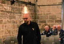 Jordi Sala pren possessió del càrrec de regidor FOTO:AJUNTAMENT DE SANTPEDOR