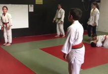 Alumnes del Judo Santpedor preparant el Judo Elements
