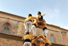 Diada quart aniversari Castellers de Santpedor FOTO.MONTSE CASÒLIVA