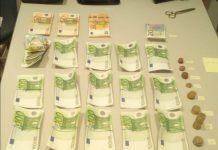 Els diners trobats a la bossa extraviada d'una veïna de Santpedor FOTO.Policia Local de Santpedor