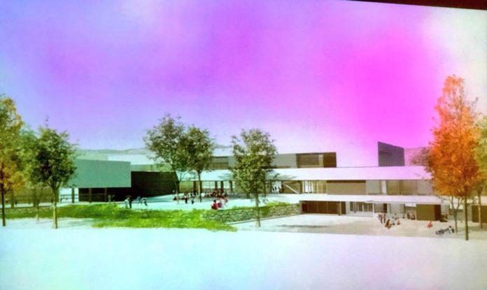 Façana de la futura escola La Serreta de Santpedor FOTO-AJUNTAMENT DE SANTPEDOR