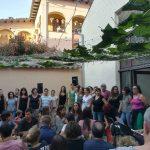 Concert del Cor de Teies a la Taberna Popula de la Fira del 2017 FOTO:ATENEU POPULAR CA LA TEIA