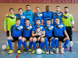 Jugadors del Sènior A del CEFS Santpedor, que van aconseguir l'ascens a 3a Nacional la temporada passada FOTO.CEFS SANTPEDOR