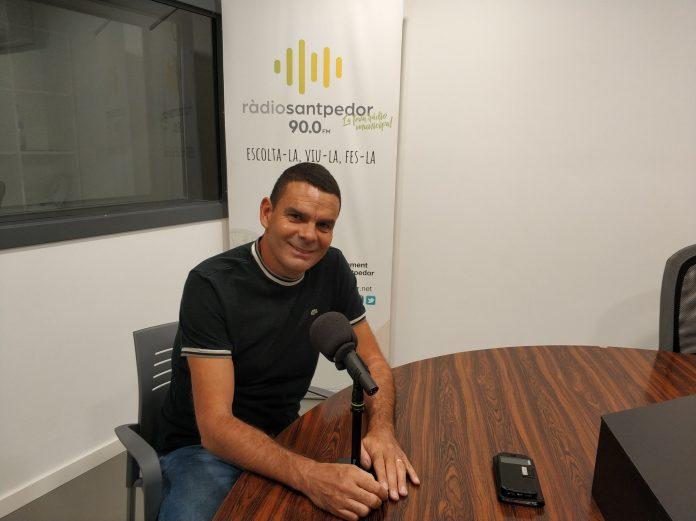 Toni Valverde entrevistat per Ona Bages als nous estudis de Ràdio Santpedor