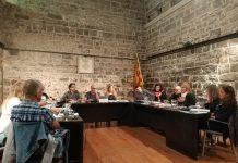 Ple municipal ordinàri de Santpedor. Octubre 2018