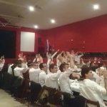 Càntics espontànis al sopar de bigotis, a Cal Llovet, del 2017