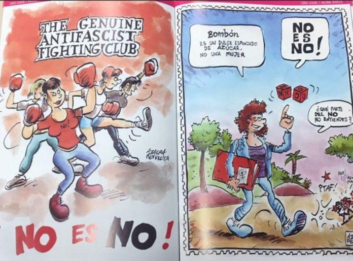 Còmic contra la violència de gènere FOTO.CADENA SER