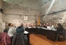Imatge del Ple Municipal Ordinari de Santpedor del mes de novembre de 2018