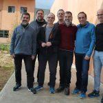 Els set presos polítics homes que són a Lledoners en una foto recent des del centre penitenciari