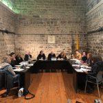 Moment a la sessió plenaria del mes de desembre a Santpedor FOTO.AJUNTAMENT DE SANTPEDOR