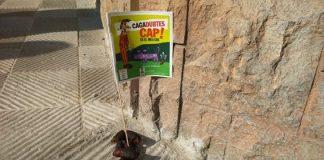 Campanya del Consell d'Infants de Santpedor al 2015 per conscienciar sobre la recollida d'excrements