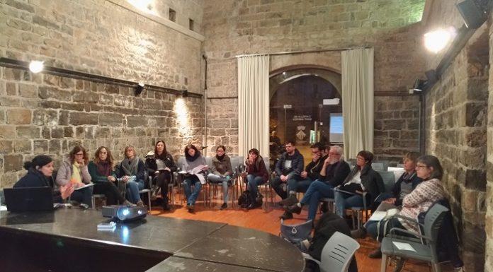 Xerrada Educació 360 a la Capella de Sant Andreu de Santpedor FOTO.CUP SANTPEDOR