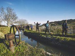Passatge de la Transèquia al seu pas per Sant Fruitós de Bages FOTO.PARC DE LA SÈQUIA