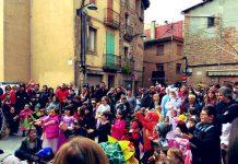 Imatge del Carnaval Infantil de Santpedor a la Plaça de l'Església FOTO.AJUNTAMENT DE SANTPEDOR