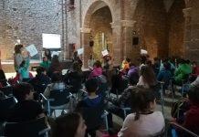 Segon Plenari Consell d'Infants Comarcal a l'Auditori Convnet de Sant Francesc de Santpedor FOTO:CONSELL COMARCAL