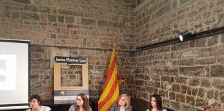 Taula rodona sobre la dona a la Capella de Sant Andreu de Santpedor FOTO.AJUNTAMENT DE SANTPEDOR