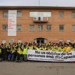 AMPANS es mobilitzarà demà per defensar el sector del a discapacitat i exigir ajuts a l'administració FOTO.AMPANS