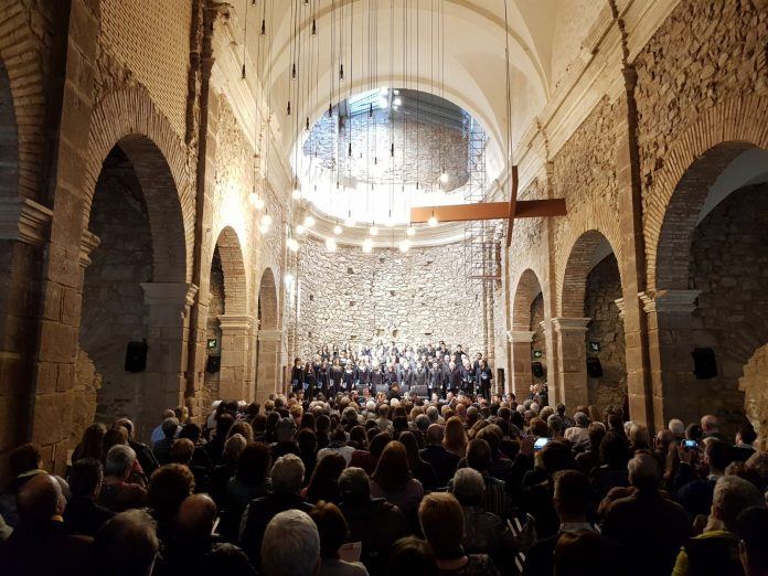 Coral Escriny a l'Auditori Convent de Sant Francesc de Santpedor FOTO:CORAL ESCRINY