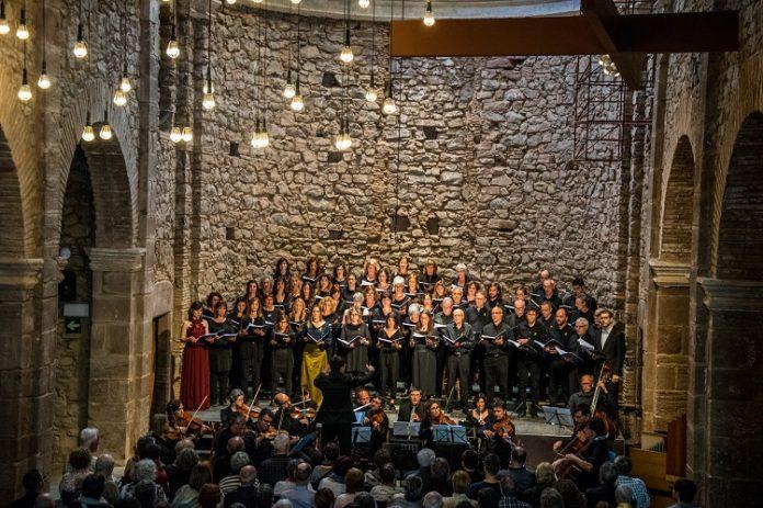 Coral Escriny a l'Auditori Convent de Sant Francesc FOTO:CORAL ESCRINY