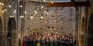 La Coral Escriny a l'Auditori COnvent de Sant Francesc de Santpedor FOTO: CORAL ESCRINY