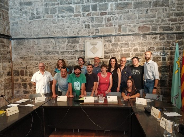 Els 13 nous regidors de l'Ajuntament de Santpedor per la legislatura 2015-2019