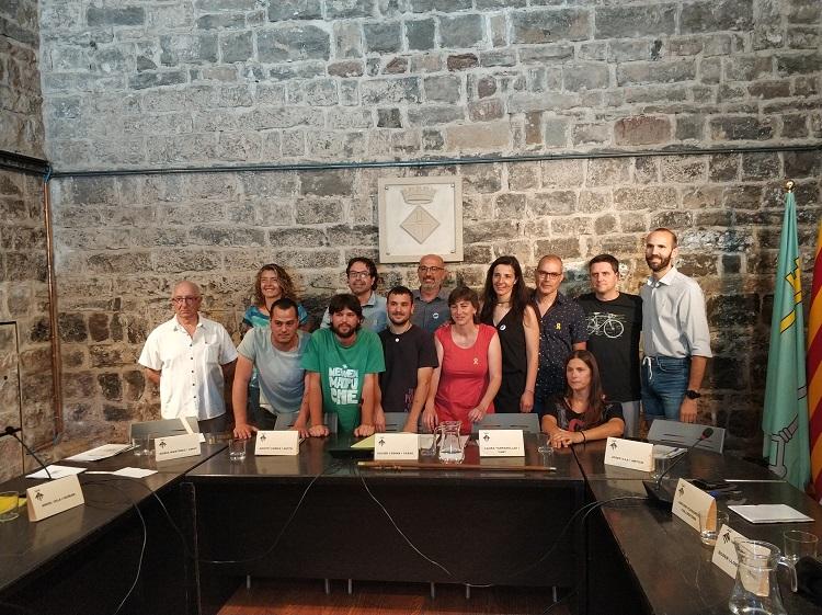 Xavier Codina estén la mà a la resta de forces en la constitució del nou govern de Santpedor amb JxS