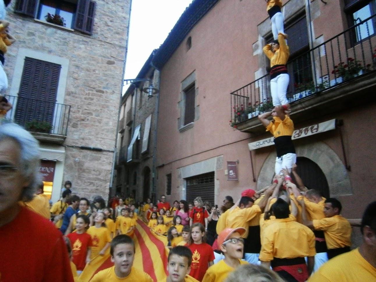 Santpedor encetarà la revetlla de Sant Joan, un any més, amb la Flama del Canigó