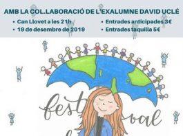 Cartell de la XXIa edició del Festival Solidari.