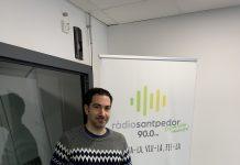 El periodista Marc Martínez Amat a Ràdio Santpedor.