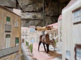 Fotograma de la recreació del Bou Brufat.