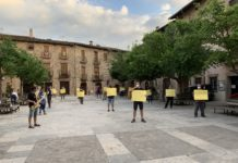 Concentració de dimarts 26 de maig a Santpedor.