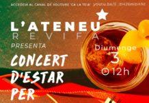 Cartell del concert organitzat per l'Ateneu Revifa.