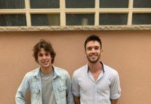 Domènec Àlvarez i David Asensio, dos santpedorencs que volen presentar-se a les oposicions a Bomber de la Generalitat.