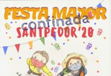 Cartell de la Festa Major Confinada.