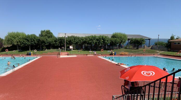 Les piscines durant el primer diumenge que han estat obertes.